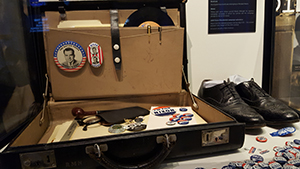 campaign briefcase shoes ephemera