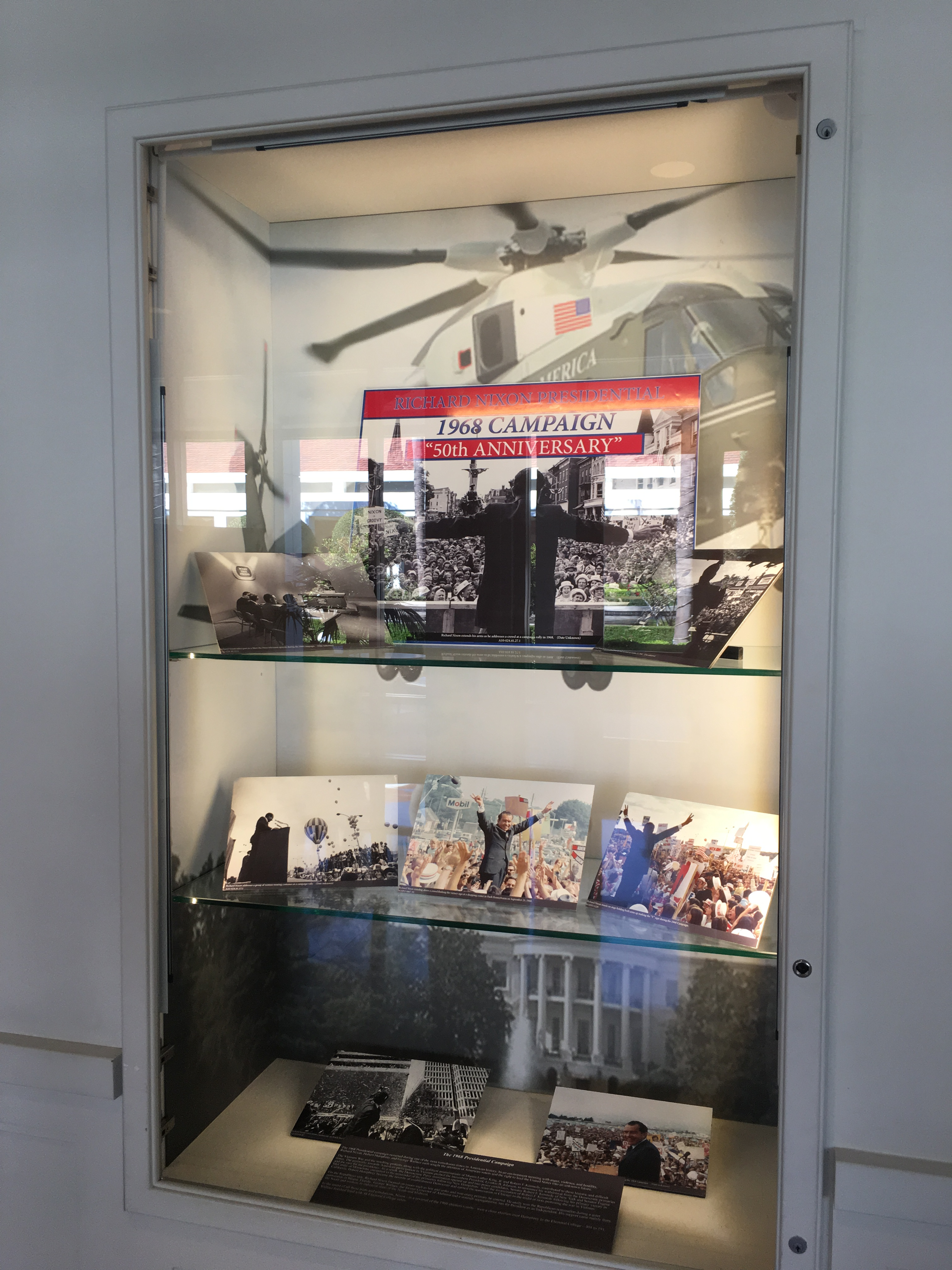 View of display case #1