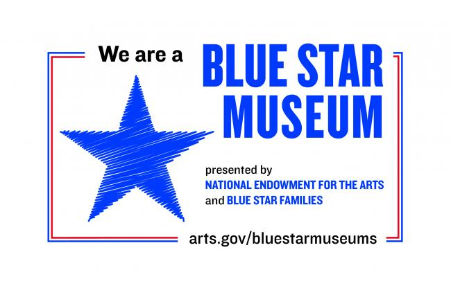 We are a Blue Star Museum 2019