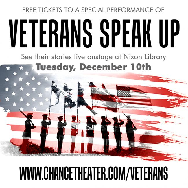 Veterans Speak Up Public Event